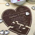 Heart-shaped Puzzle Invitation