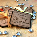 Personalised Wooden Coaster Set